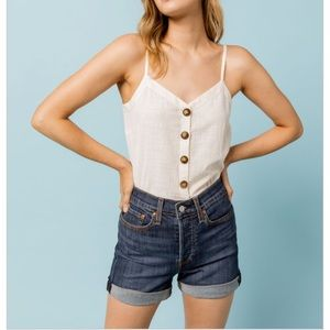 Levi's Wedgie High Rise Shorts